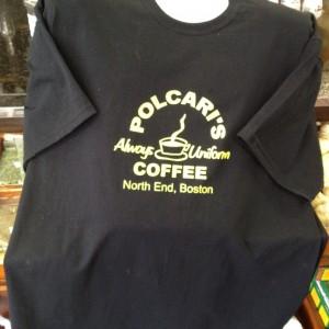 Black Short-Sleeve Shirt with Yellow Print (Copy)